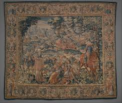 Light Colored Tapestry Tapestry In The Baroque Threads Of Splendor Metpublications