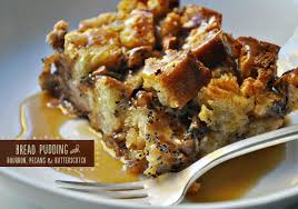the parsley thief bread pudding with bourbon pecans butterscotch