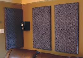 Soundproof Interior Walls Diy Acoustic Tiles Sound Proofing Home Theater For Around 20 Each