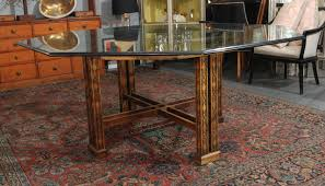 maguire chinoiserie octagonal table for sale at 1stdibs