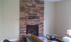 Design Home Interiors Wallingford Mounting Tv On Stone Fireplace Room Design Decor Contemporary At