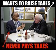 Al Meme - this hilarious meme shows bernie sanders hypocrisy on taxes perfectly