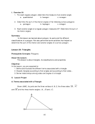 How Many Interior Angles Does A Pentagon Have Math Lm Mod4