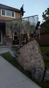 Decorated Homes For Halloween Halloween Pirate Decorations Halloween Party Decorations Ideas