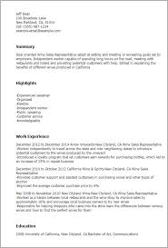 wine retail cover letter
