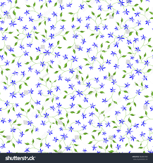 small feminine seamless pattern floral texture stock vector