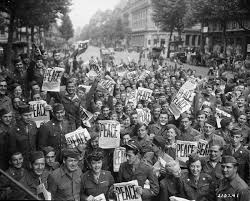 victory americans everywhere celebrated the end of world war ii