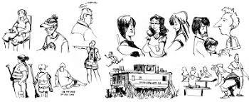 sketch adventure july 2008