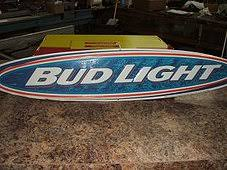 bud light metal sign bars by al signs mirrors