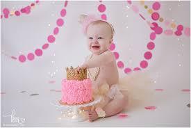 baby birthday cake smash birthday photography kristeenmarie photography
