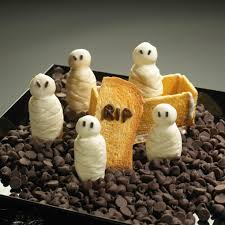 mummy cookies halloween recipe three different directions