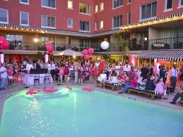party venues houston slideshow chabala scores party in pink turns hotel zaza into