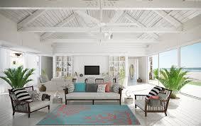 Beach Rugs Home Decor Tropical Coral Teal Area Rug Carpet Coastal Beach Ocean Sea Modern