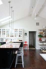 Can Lights For Vaulted Ceilings by 13 Ways To Add Ceiling Beams To Any Room Beams Glass Front