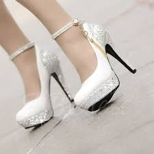 Wedding Shoes Kg High Heels Platform Tassel Wihte Wedding Shoes Small One Yard