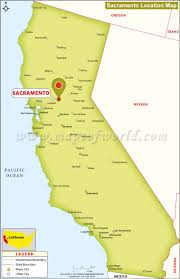 Map Of Timezones In Usa by Where Is Sacramento Located In California Usa