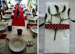 brilliant simple christmas table decorations design decorating