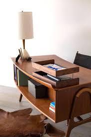 Mid Century Modern Office Desk Mid Century Modern Office Desk Home Tour Inside An Interior