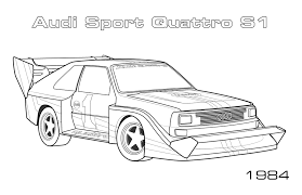 coloring pages cars audi coloring