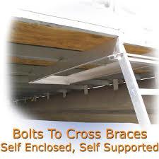 under deck pontoon boat ladder 5 step ladder stores under deck