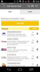 cek resi raja ongkir cekresi com cek resi dan tarif all in one apk download gratis
