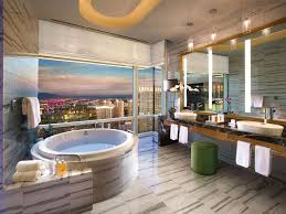 luxury vegas hotel bathrooms to get ready for a out on the