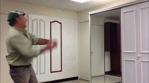 custom door and mirror closet doors at the home depot youtube