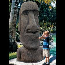 king moai easter island statue the green