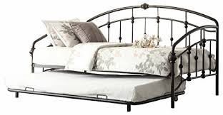 Metal Daybed With Trundle Metal Daybeds With Trundle Amazon Com