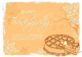 free happy thanksgiving vector illustration free vector