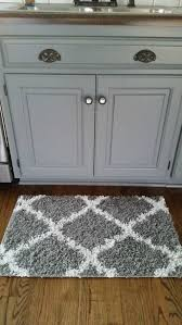 Trellis Kitchen Rug Kitchen Small White And Gray Kitchen Rug Pattern