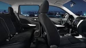 nissan urvan 2017 interior nissan navara pickup truck for rent rent a car palawan