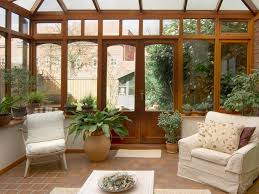 Enclosed Patio Windows Decorating Patio Enclosed Patio Furniture With White Cushions