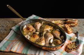 Cloves Chicken With 40 Cloves Of Garlic Recipe Nyt Cooking