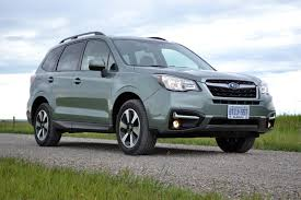 subaru forester interior 2017 2017 subaru forester 2 5i review autoguide com news
