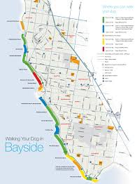 Hamptons Map Melbourne Suburbs Dog Friendly Beaches Dogs On Holidays Dog