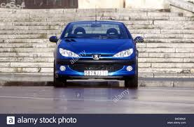 peugeot 206 cc car peugeot 206 cc convertible model year 2000 blue open top