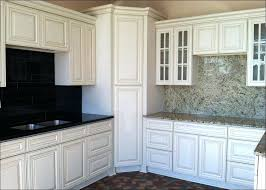 White Kitchen Cabinets With Glass Doors White Kitchen Cabinets Glass Doors Size Of Door Design Glass