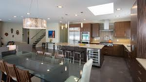 Recessed Lights Kitchen Building A Basement Kitchen With Family Room Decor And