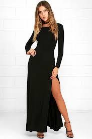 sleeve maxi dress chic black dress maxi dress sleeve dress 64 00