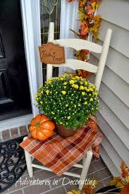 Fall Decorations For Outside The Home Best 25 Porch Decorating Ideas On Pinterest Porches Porch