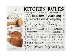 My Kitchen Rules Knives Amazon Com Moni U0027s Kitchen Rules Tempered Glass Utility Board