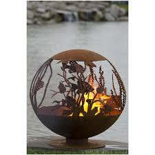 Personalized Fire Pit by Red Lake