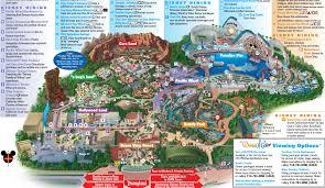 map of california adventure disney california adventure