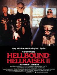 hellraiser ii hellbound hellraiser pinterest horror movie