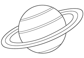 planet coloring pages saturn coloringstar