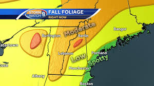New York State Fall Foliage Map by Foliage Report Fall Colors Picking Up