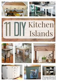 easy kitchen island diy kitchen islands