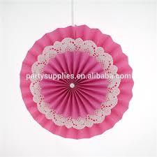 diy fans handmade paper rosettes diy paper fans for wedding hanging