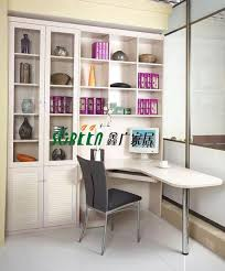 L Shaped Desk With Bookcase Modern Wooden Bookcase With Desk China Bookcase With Desk